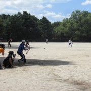 軟式野球大会の様子